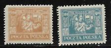 Poland - 1923 -  Mint LH -  Scott#: 189-190