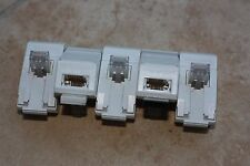 5 x RJ45 to BT Phone PABX Line Adapter. Low Profile. OFTEL NS/G/23/L/100005