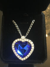 Titanic Heart of the Ocean Necklace
