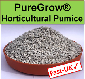 1-5L Horticultural Pumice for bonsai, plants & cacti - washed 2-4mm UK SELLER