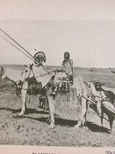 Ephemera 1935 Picture Blackfoot Indians Canada g1l