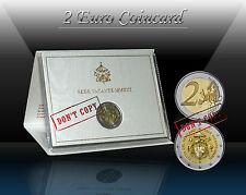 """VATICAN 2 EURO 2013 """" Sede Vacante MMXIII """" Commemorative coin  (CoinCard) BU"""