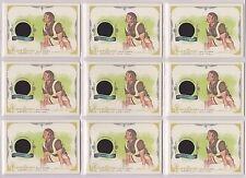 2014 ALLEN & GINTER LAURA PHELPS SWEATT RELIC (9) CARD LOT ~ 540lb BENCH PRESS