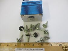 """12 PCS IN 1 FORD BOX """"SCREW & WASHER"""" N805800-S100, AU 19 E, NOS FREE SHIPPING"""