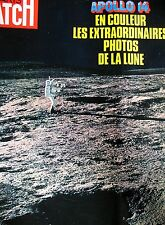 PARIS MATCH N° 1138 APOLLO XIV ASTRONAUTE EXTRAORDINAIRES PHOTOS DE LA LUNE 1971