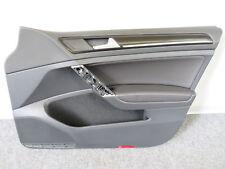 Original Türverkleidung Ambientelicht Leder schwarz 4 Türer VW Golf 7 VII 5G GTI