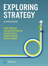 Exploring Strategy 11th Edition Text and Cases : PDF FILE