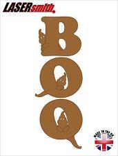 Mdf Halloween Boo signo-Perfecto para Craft & festivo Decoración