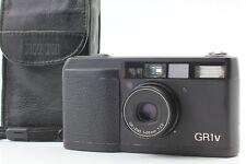 LCD WORKS [N MINT] RICOH GR1V Black 35mm Point Shoot Film Camera from JAPAN