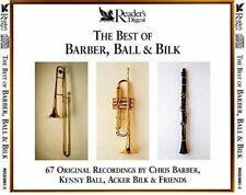 THE BEST OF BARBER,BALL & BILK = VGC 3 CD ALBUM =SEE TRACKS BELOW