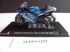 1/24 Ixo YAMAHA YZR-M1 2003 ALEX BARROS MOTO BIKE Motorcycle 1:24 Altaya / IXO