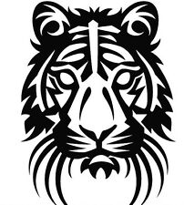 TIGER HEAD CAR DECAL STICKER
