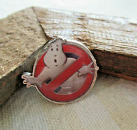 """EUC GHOSTBUSTERS Film 2016 """"Answer the Call"""" Movie Silver-Tone Trading Lapel PIN"""