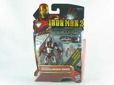 "Universo Marvel Iron Man 2, Inferno Armadura de misión 4"" Figura en caja Película concepto"
