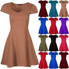 Short Sleeve Mini Dresses for Women with Cap Sleeve