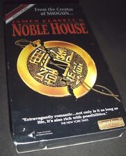 Noble House (VHS, 1994) James Clavell Original TV Mini Series NEW