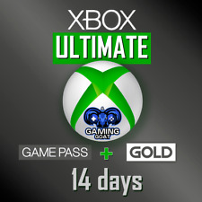 Xbox Game Pass Ultimate - 14 Day and 1 Month FREE - Instant Email Delivery