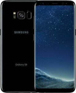 New T-Mobile ONLY Samsung Galaxy S8 SM-G950U Smartphone- 64GB - Midnight Black