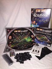 Star Trek Scrabble Word Board Game Fundex Complete Hasbro 2009
