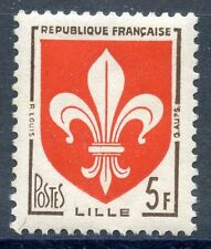 STAMP / TIMBRE FRANCE NEUF N° 1186 ** BLASON LILLE