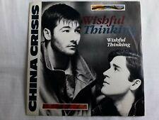 """China Crisis - Wishful Thinking  7"""" Vinyl Single"""