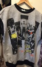 Vintage Total Fitness U.M.S. Pullover Shorts Sleeve Sweatshirt. Size Xl Usa.Rare
