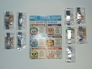 General Mills Cereal Squad Toy Lot of 9