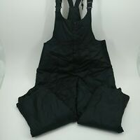 St Johns Bay Womens Black Overalls Bibs Dungarees Jeans Size Extra Large XL