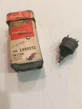 NOS 1967 Chevy GMC Truck All Models Windshield Wiper Switch 2 Two Speed 1993372