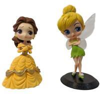 Disney Princess Q Posket Figures Set of 2 Bell & Tinker Bell (I) Beauty & Beast