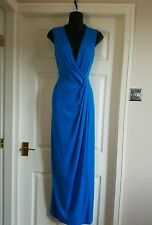 Planet Designer Blue Maxi Dress/Party/Wedding/Races/Holiday Dress Uk8. RRP112