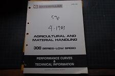 CATERPILLAR D379 D398 D399 ENGINE GENERATOR Performance Curve Manual service