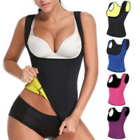 Women Hot Sweat Body Shaper Slimming Neoprene Vest Thermo Yoga Sauna Fat Burner