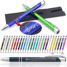 Metallkugelschreiber Touch Pen individueller Laser Gravur Werbung  1-500 Stück