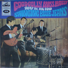"""SWINGING BLUE JEANS-good golly miss molly-israelI 1 st. pressing 7"""" P/S EP 1965"""