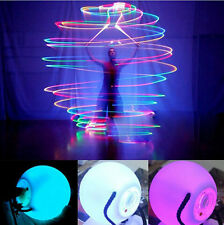 10 X LED Multi-coloured Glow POI Thrown Balls Light up for Belly Dance Hand Prop