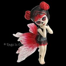*KOI DANCER* Goth Fantasy Fairy Art Resin Cos Play Kid Figurine (15.5cm)