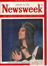 1948 Newsweek January 19 - Katherine Cornell; Meteor census; Wiser than China?