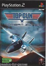 TOP GUN COMBAT ZONES for Playstation 2 PS2 - with box & manual - PAL