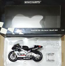 MINICHAMPS  ALEX BARROS HONDA NSR 500 MOTOGP 2002 TEAM HONDA PONS  1:12