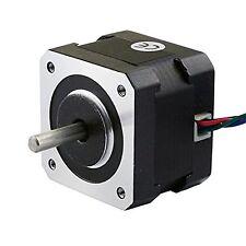 3D Printer Stepping Motor Nema 17 Stepping Motor 26Ncm(36.8oz.in) 12V 0.4A CNC