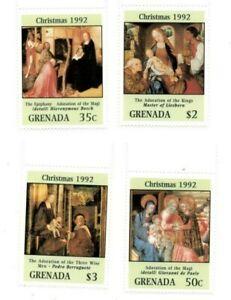 Grenada - 1992 - Christmas - Set Of 4 Stamps - MNH