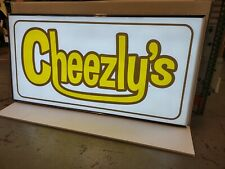 Double Sided Outdoor Led Lightbox Sign Amp Graphics Extruded Aluminum 48x96x12