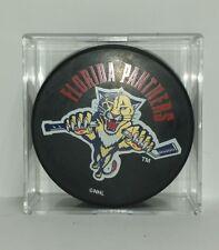 Florida Panthers NHL Hockey Puck Broken Stick with Name Game Souvenir