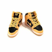 madxo * 3D mini sneaker dunk high WU TANG 1:6 action figure nike laces M02-07