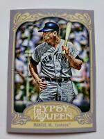 🔥 2012 Topps Gypsy Queen Mickey Mantle Photo Variation #120b - Yankees HOF SP