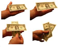 Floating Currency Bills Make Any World Paper Dollar Bill Levitate Magic Trick