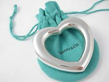 Tiffany & Co Silver RARE Heart Baby Rattle!