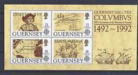 Cept 1992 ** Block 8 Guernsey Postfrisch siehe scan