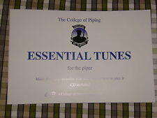 The College of Piping Essential Tunes - Book 1 and CD Great tunes for bagpipes